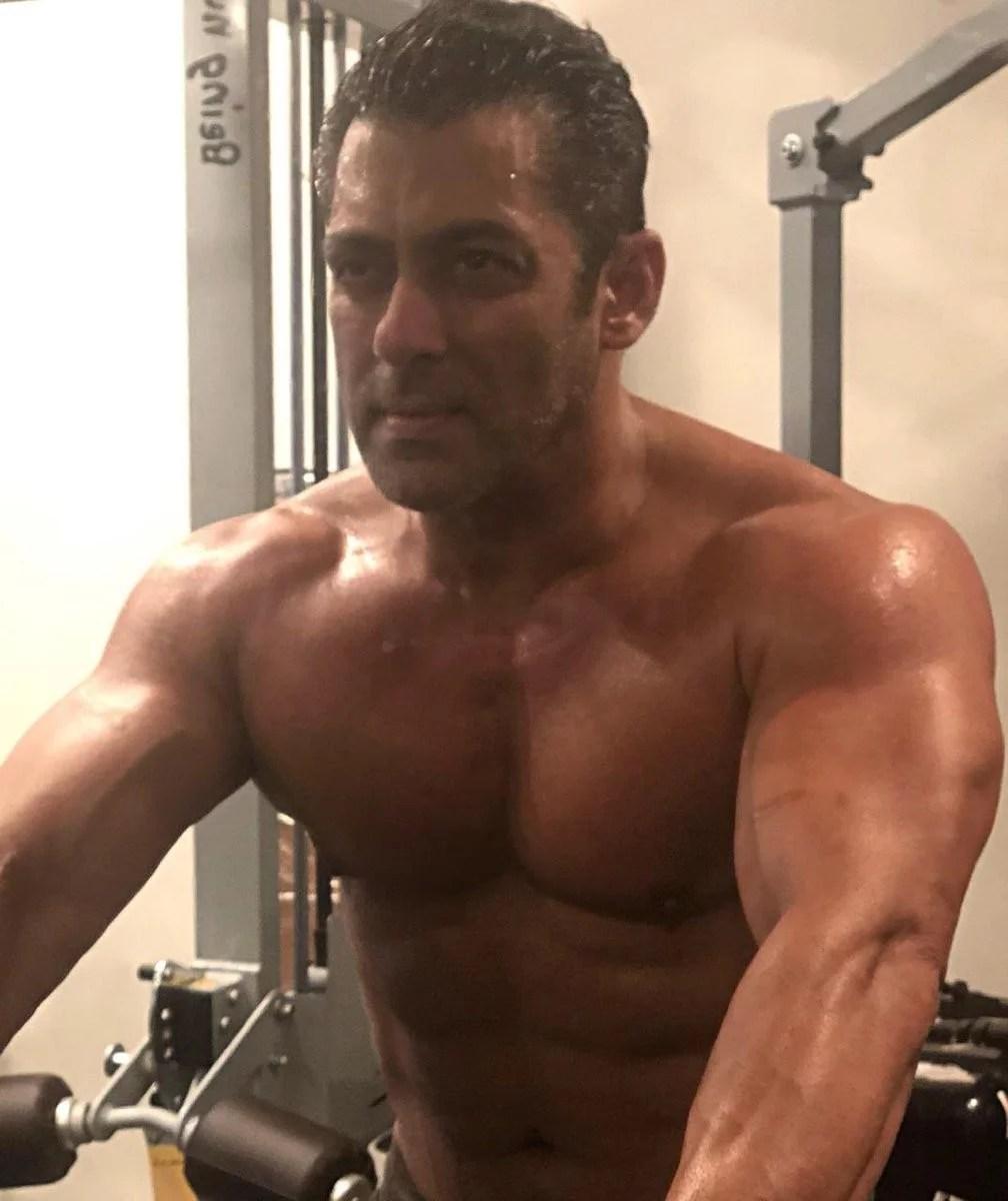 Salman Khan Biceps Brachii Exercises Myth