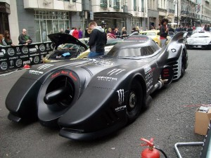 Batmobile at Gumball 3000