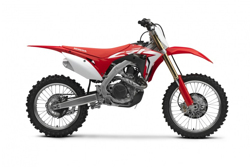 Honda Unveils 2018 CRF450R and CRF450RX