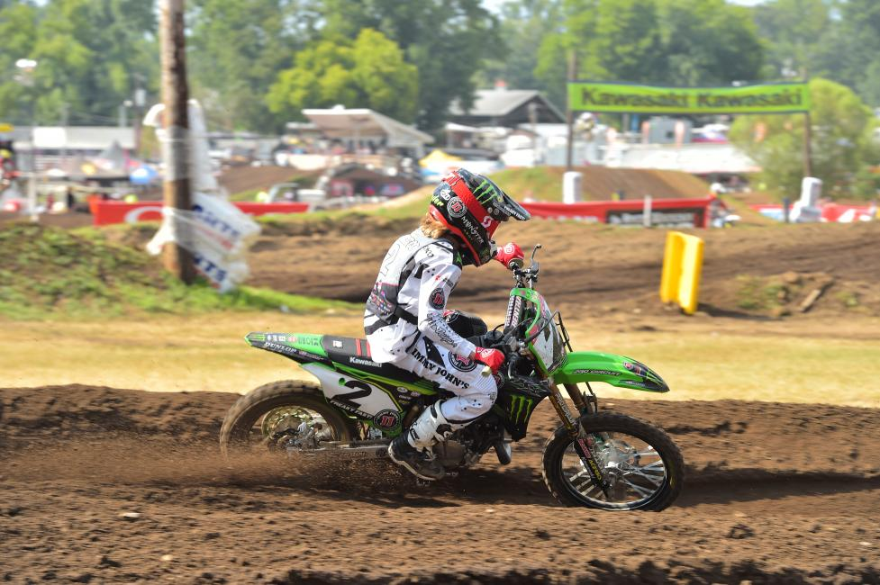 Ryder Difrancesco went 1-1 and currently sits first in the 85cc (9-12) class overall standings.