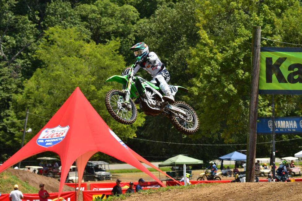 John Grewe took home the Masters (50+) title this year at the AMA Amateur National Motocross Championship.
