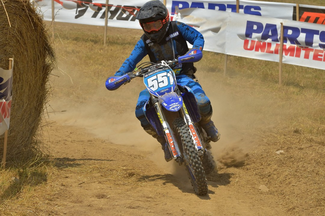 BABS Racing Yamaha's Becca Sheets will be looking to battle at the front of the WXC pack on Sunday.
