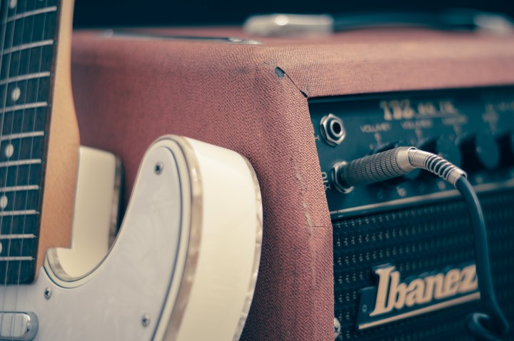 guitar and amp
