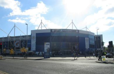 Our first view of the King Power Stadium