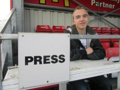 The press area