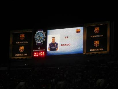 Bravo replaces Ter Stegen after Barcelona's 4-0 humiliation