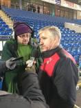 Swindon manager Martin Ling