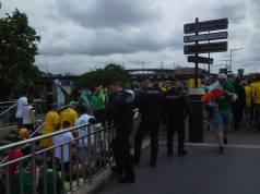 Security at the stadium
