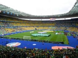 The pre-match ceremony