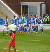 Gary Liddle puts Chesterfield ahead