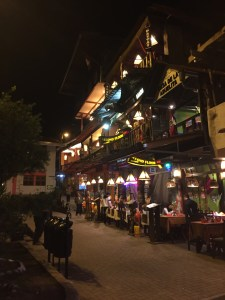 Aguas Calientes: The Camino in Spain meets the Wisconsin Dells