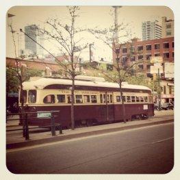 TTC, Toronto, old street car