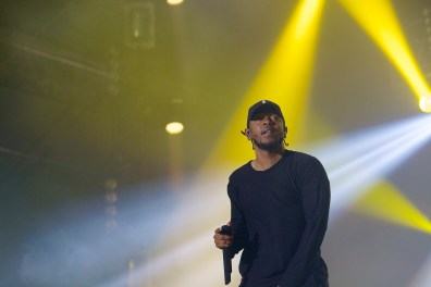 Kendrick Lamar is one hell of a performer.