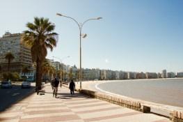 Oceanside in Montevideo, Uruguay.