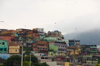The Rocinha Favela in Brazil. Unreal experience to explore this Favella of 200,000.
