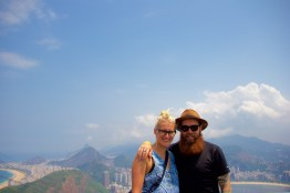 Katie and I at the end of our 3-week trip.