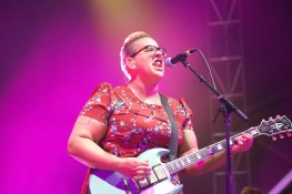 Brittany Howard of Alabama Shakes. My first show I ever shot this summer at Field Trip.