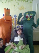 GUMBY & POKEY AT GEORGE MARK