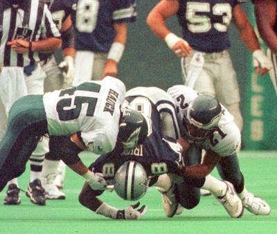 After a fast start in 1999, Michael Irvin's neck injury sent the Dallas Cowboys into a tail-spin. Over their next 61 games without Irvin, the Cowboys posted a 20-41 record.