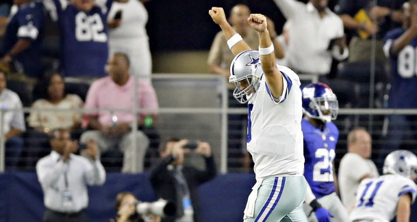 Comeback Victory Over Giants Makes Romo Hero In Dallas…For A Week, Anyway