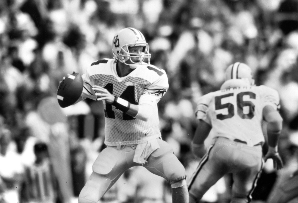 When it became apparent that Oregon standout Bill Musgrave wasnt prepared for life in the NFL, Cowboys head coach Jimmy Johnson took matters into his own hands.