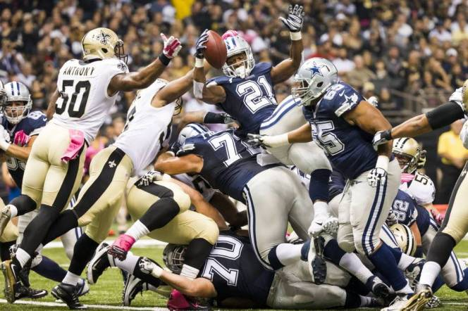 Joseph Randles episode of indifference at the goal-line during Sunday nights loss to New Orleans was the most recent in a long line of missteps for the Dallas Cowboys running back.