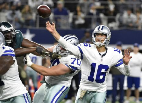 Matt Cassel tossed three touchdowns in relief of Tony Romo.  But it was his fourth-quarter interception that resounded the most in Dallas' sixth consecutive defeat.