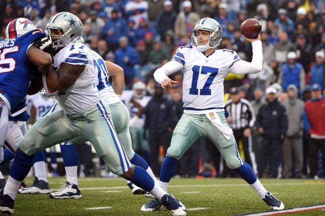 Kellen Moore's First Start Defined By Struggles, As Cowboys Fall In Buffalo 16-6