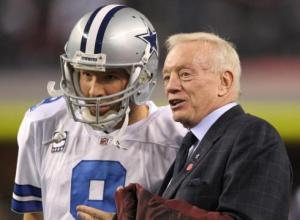 Jerry protecting Romo?