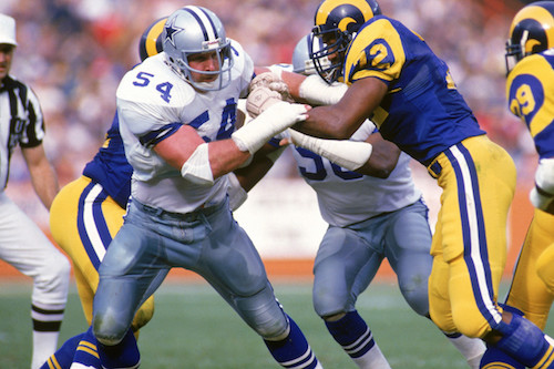 Randy White's very first NFL game came against the Rams at the Coliseum in August of 1975.
