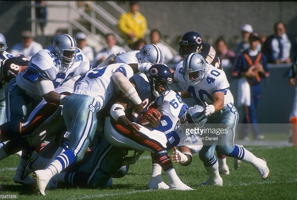 Landry's Cowboys Corralled By 'Iron' Mike's Bears At Soldier Field 17-7
