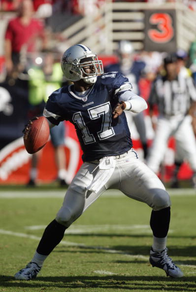 Quincy Carter's up-and-down beginning to the 2002 season hit rock bottom in Week 7 versus Arizona.