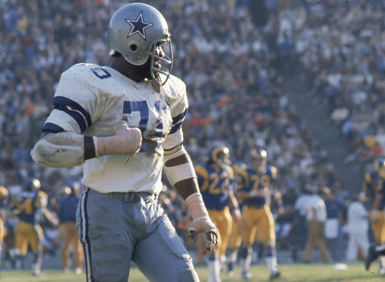 1975 Dallas Cowboys Player Rankings #9 Rayfield Wright