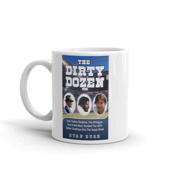 Dallas Cowboys – The Dirty Dozen Book Cover – Mug made in the USA