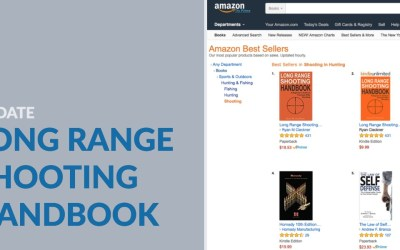 Long Range Shooting Handbook Update – Continued Best Seller