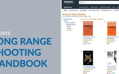 Long Range Shooting Handbook Update – Continued Best Seller