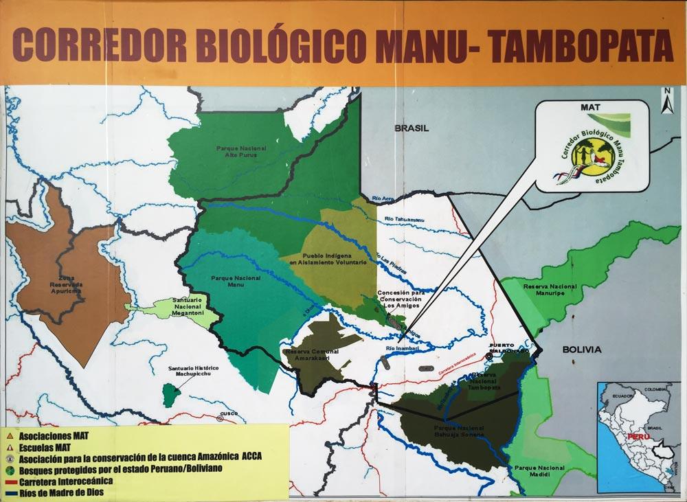 MAT (Manu-Tambopata) Biological Corridor