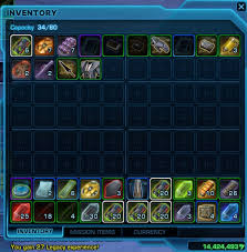 Swtor Inventory