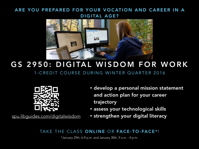 Digital Wisdom for Work Poster 4x3