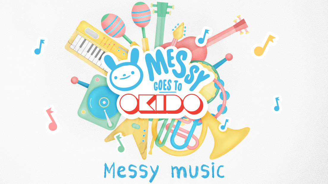 Messy Goes To Okido: Music Maker