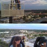 Ryan Merrill photographing dinner in the sky south florida west palm beach