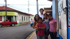 October 2014 - Sharing Jesus with some rad kids in Nicaragua.