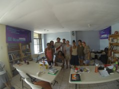 October 2014 - Ryan teaching in a DTS at YWAM Nicoya on how to inductively study the Bible.