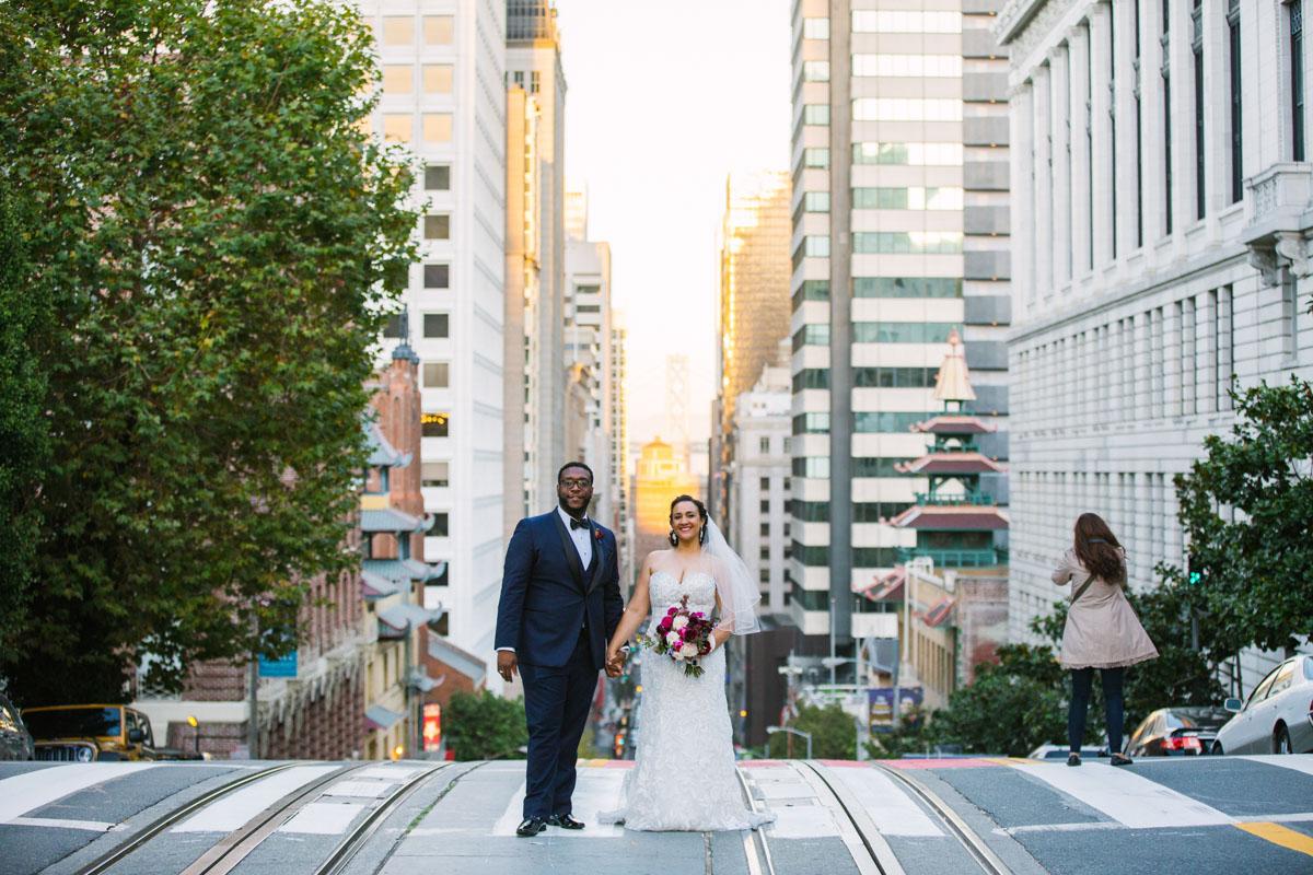 san francisco streets wedding