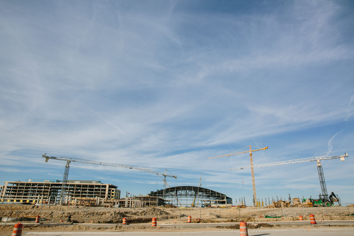 Dallas Stadium, Outdoor Commercial Photography