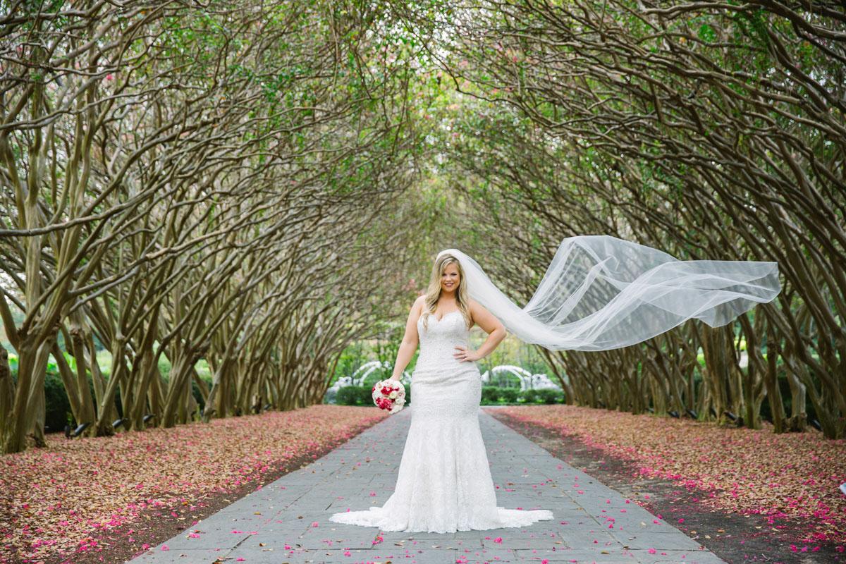 dallas arboretum photography bridals