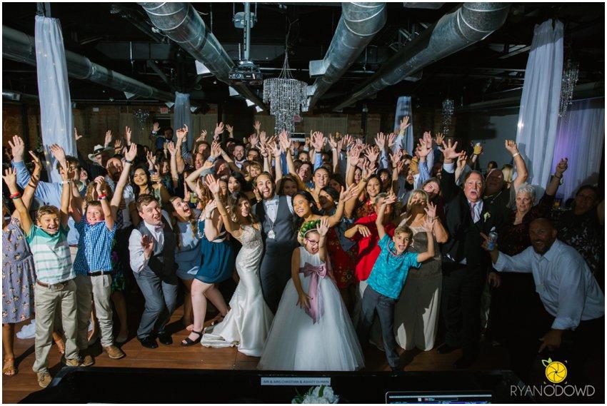 A Rooftop Wedding in Deep Ellum