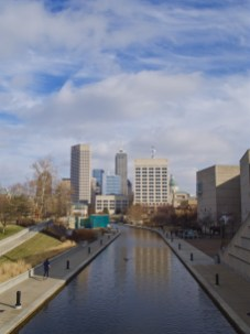 Indianapolis Skyline from Canal