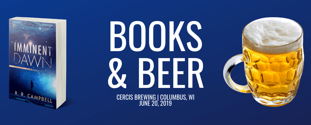 Books and Beer Event featured on WiscNews!