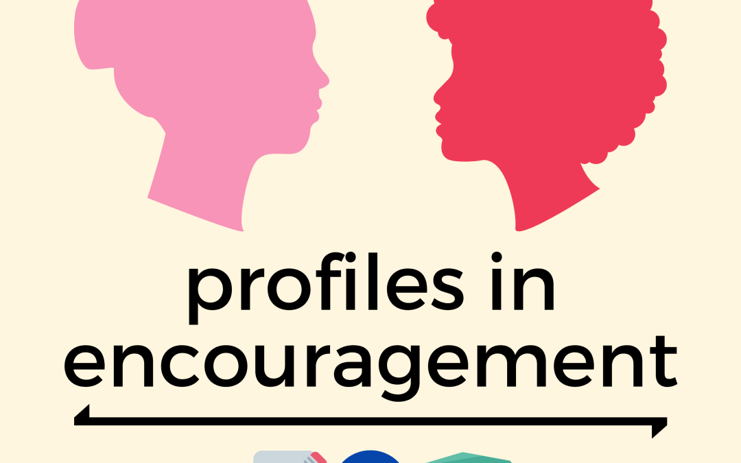 Profiles in Encouragement 001 – Lisa Vihos, Ekta Garg, Larry F. Sommers